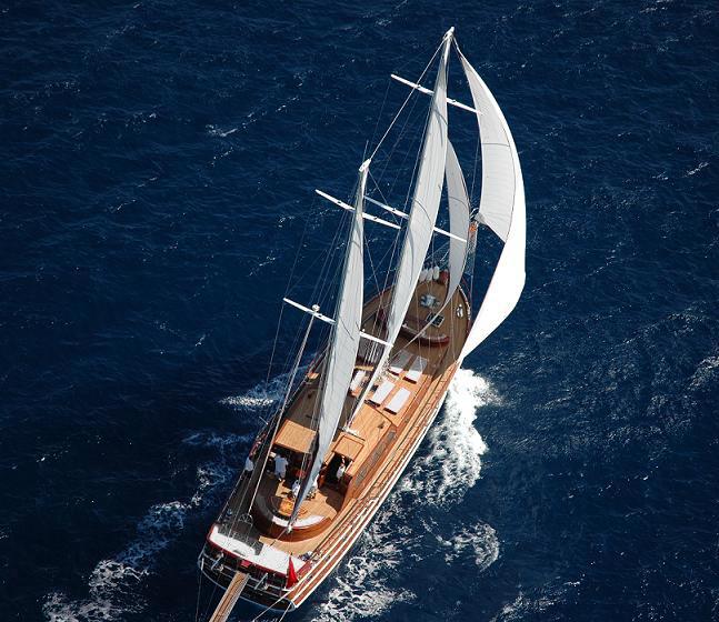 crewed gulet charter in Turkey