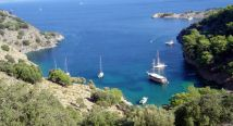 Crewed yacht charter kekova rout