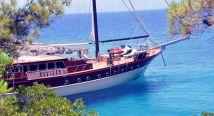 Yacht Med Mannskap Til Leie i Tyrkia