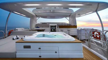 Yacht med mannskap Tyrkia